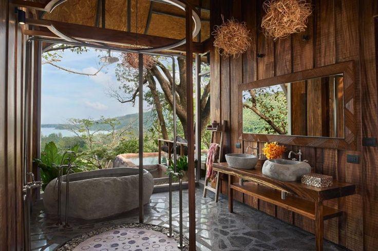 World's sexiest bedroom. Keemala Bird's Nest Suite. Courtesy of Mr & Mrs Smith