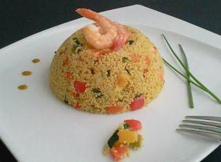 Denny Chef Blog: Couscous di kamut con verdure e gamberi