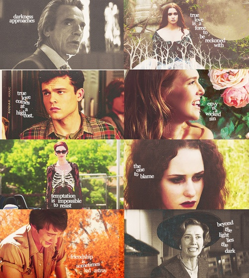 """""""Mortals. I envy you. You think you can change things. Stop the universe. Undo what was done long before you came along. You are such beautiful creatures."""" - Beautiful Creatures"""
