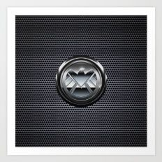 Shield Logo Art Print