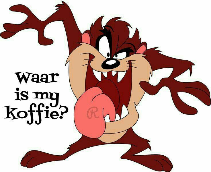 Waar is my koffie