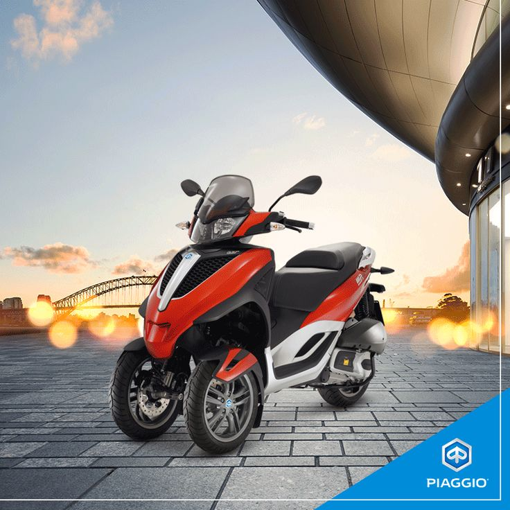 Your summer, your city: the perfect combination with #Piaggio #MP3Yourban!