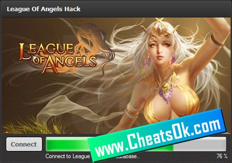 After few hours i found one League of Angels hack which is pretty awesome, we can add unlimited gold and diamonds into our accounts for free.I opened the League of Angels hack and after first use i charged my account with over 10000 diamonds and 1M gold.I was very shocked how this powerful League of Angels cheat is , so i searched around for more information and i found this