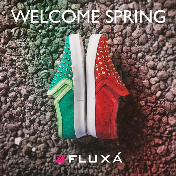Welcome Spring! #shoes #fluxa #moda #primavera