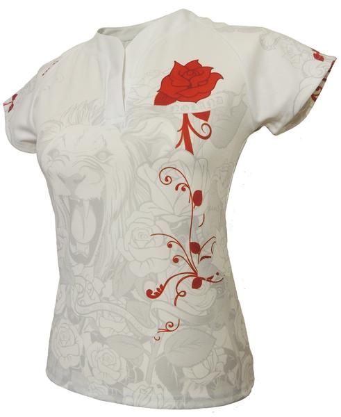 Olorun Women's Honour England Rugby Shirt White (Fast Delivery)