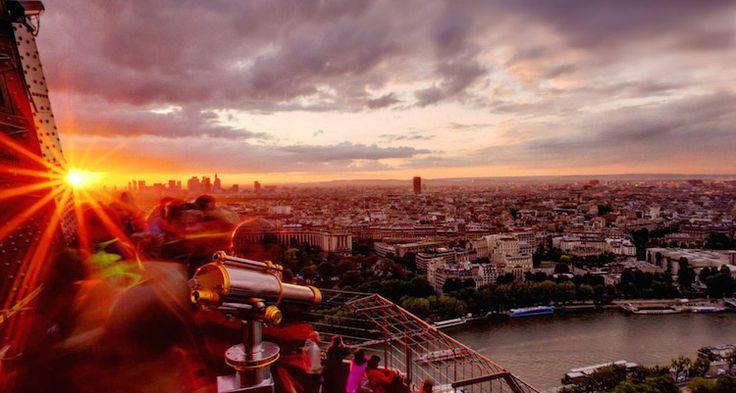 Eiffel Tower Skip-the-Line Sunset Illumination Tour