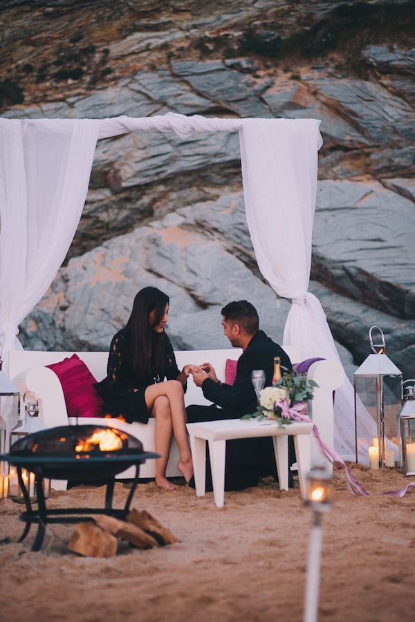 The perfect proposal - Romantic Sunset Cornwall Beach Proposal http://www.traversandbrown.co.uk/