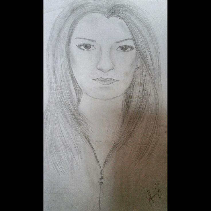 Woman draw