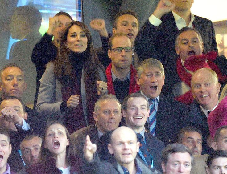 Kate Middleton and Prince William at Rugby World Cup 2015 | POPSUGAR Celebrity