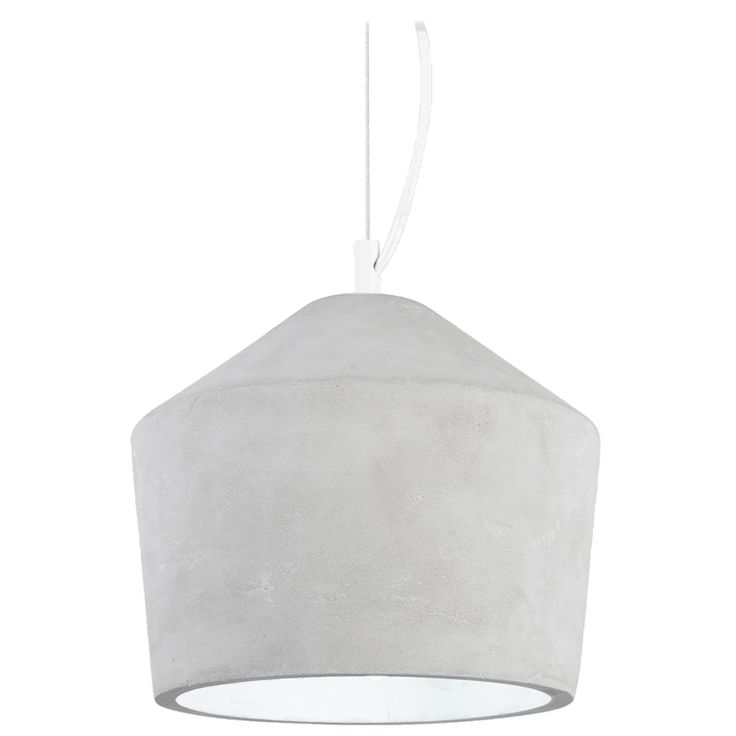 Scandinavian concrete pendant light  Corner 2 by M. Syrjälä