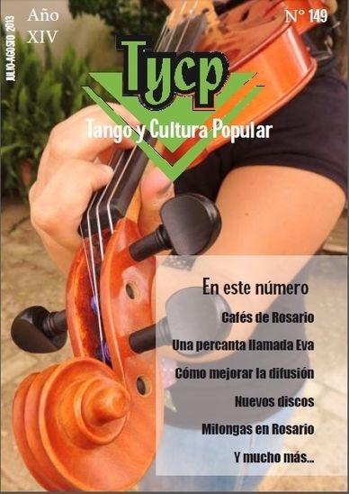 Tango y Cultura Popular Julio-Agosto 2013