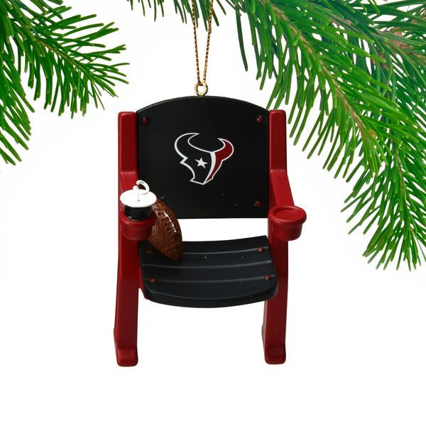 Houston Texans Stadium Chair Ornament - $11.99