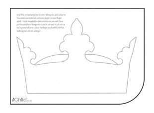 95 best images about london art crafts for children on for Paper crown template for kids