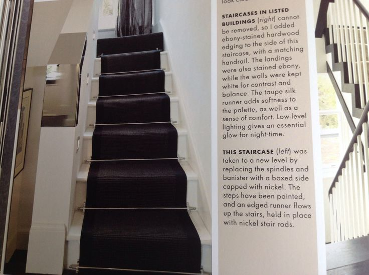 Charcoal Stair Runner Stairs Stairs Home Decor Decor