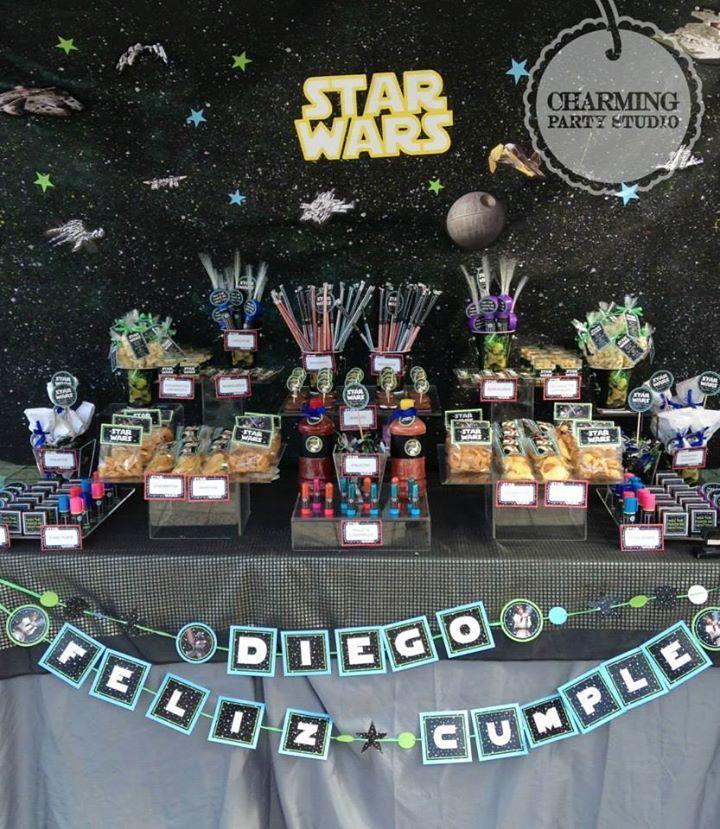 Estamos esperando una avalancha de fiestas del tema Star Wars con la nueva película quye está por salir... Un increíble tema para chicos y grandes!