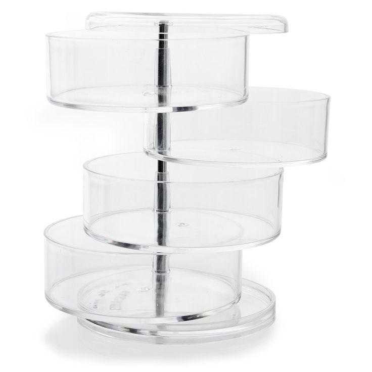 #AlineaPE2014  Boite pivotante Transparent - Ice - Pots, boites et flacons - Accessoires de salle de bains - Salle de bains - Décoration d'intérieur - Alinéa