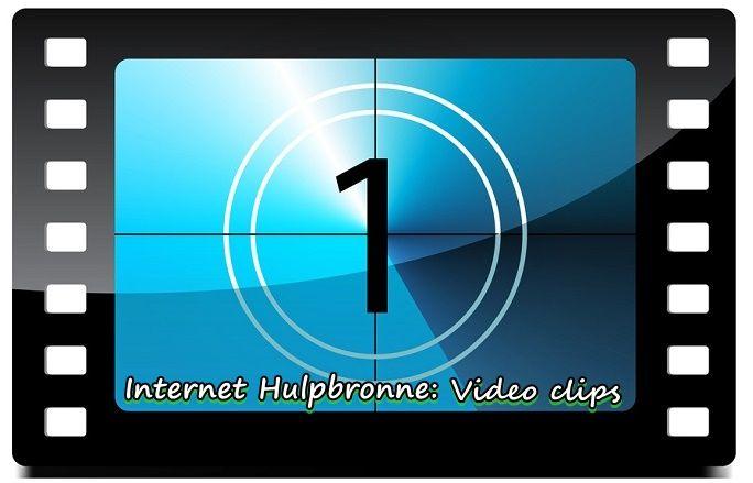 Internet Hulpbronne: Video Clips