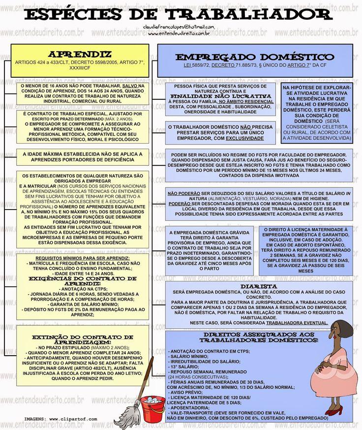 ENTENDEU DIREITO OU QUER QUE DESENHE ???: ESPÉCIES DE TRABALHADOR