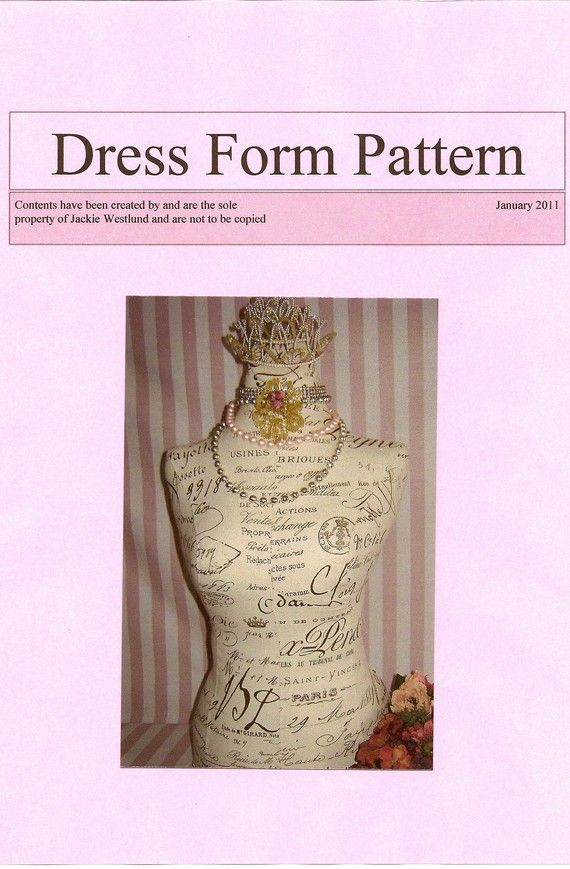 155 best Dress Form images on Pinterest | Sewing ideas, Dress form ...