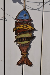Cold Comfort Pottery: Funky Fish