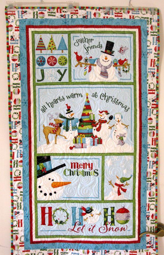 178 best snowman quilts images on Pinterest | Doodles, Felt ... : handmade christmas quilts - Adamdwight.com