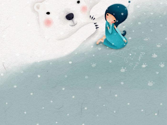 Wallpaper Series of Echi Illustrations (Vol.03)   - Korean Echi Illustration Wallpaper 10