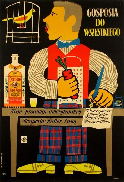 Sitting Pretty Gosposia do wszystkiego Stachurski Marian Polish Poster