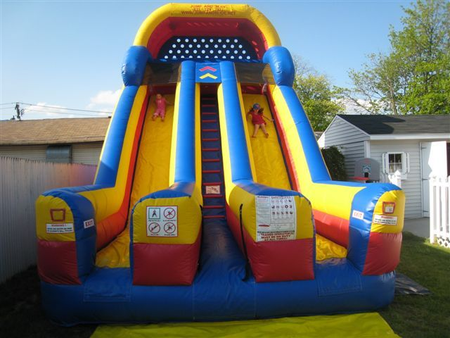 Inflatable Slides For Rent Long Island