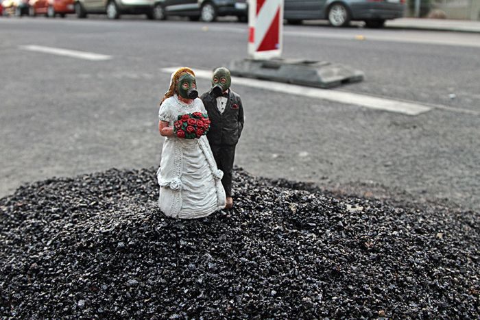 Isaac Cordal / Il microcosmo delle megalopoli #photography #art