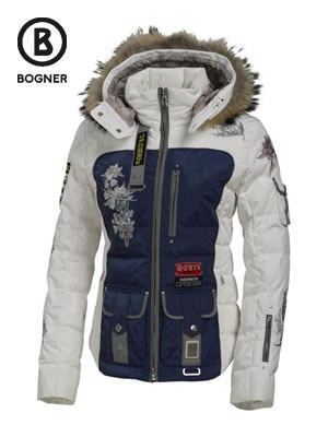 Bogner Laria-D down ski jacket from the Sagarmatha themed collection.