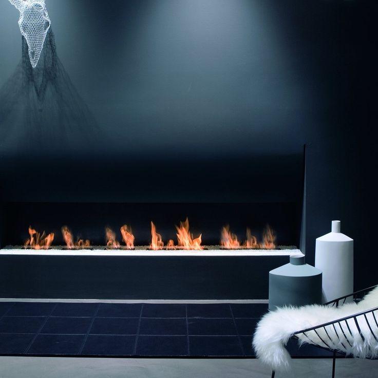 Antoniolupi Şömine ''IL CANTO DEL FUOCO'' koleksiyonu, Tasarım Domenico De Palo Antoniolupi Fireplaces ''IL CANTO DEL FUOCO'' collection, designer Domenico De Palo