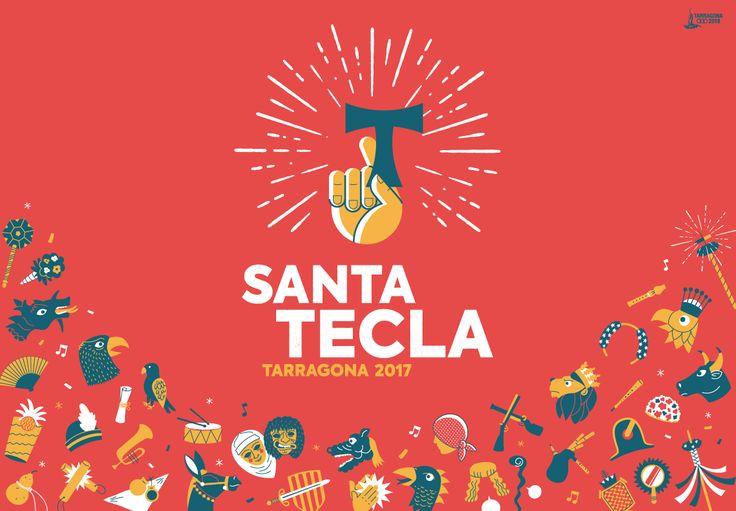 Cartel Santa Tecla Tarragona 2017