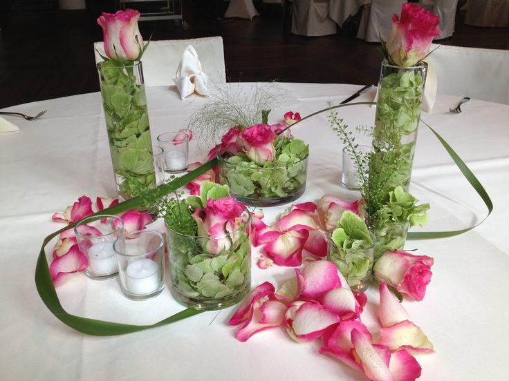73 best tischdekoration blumen und mehr images on pinterest flower decorations flower. Black Bedroom Furniture Sets. Home Design Ideas