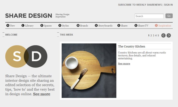 Share Design | Desire to Inspire - Designers and theirblogs