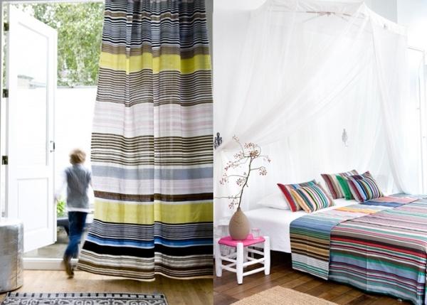 Colorful stripes/geweven doeken via nooosugar.nl