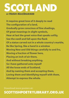 Scotland - Hugh MacDiarmid's beautiful poem about Scotland and love of one's country. 'So I have gathered unto myself / All the loose ends of Scotland...'Poetry Libraries, Hugh Macdiarmid, Beautiful Poems, All Things Scottish, Macdiarmid Poems, Scottish Poetry, Scotland Poems, Poetry Posters, Macdiarmid Beautiful