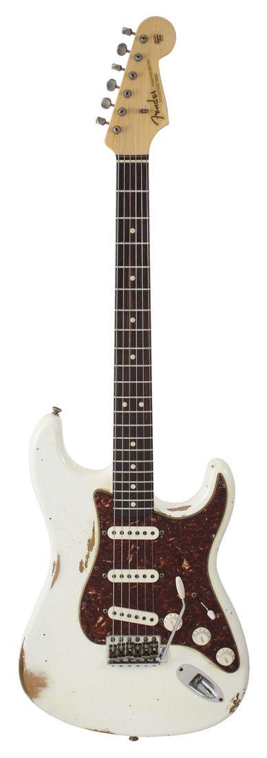 Fender Custom Shop 1963 Stratocaster Relic Antique White