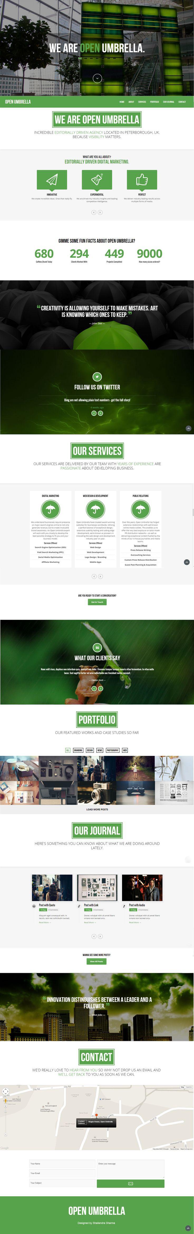 www.openumbrella.org Website design and development company