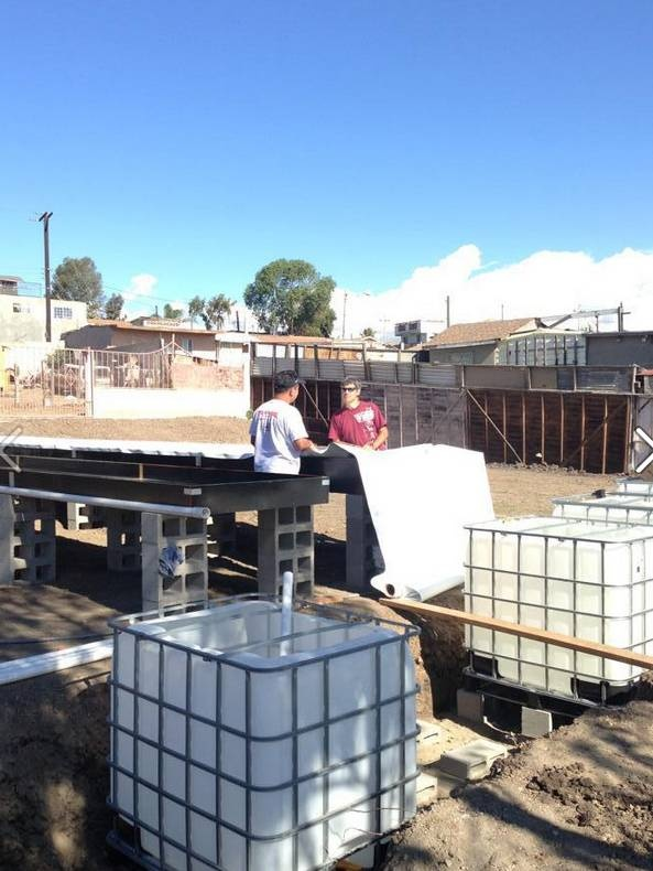 Countertop Aquaponics System : aquaponics system in mexico global plastic sheeting aquaponics system ...