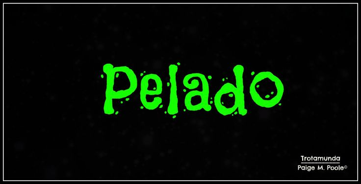 """Blog post: """"Word Wednesday: Pelado""""  """"While the literal meaning is """"peeled,"""" bare,"""" """"bald,"""" or """"shaven,"""" in Colombia it is most often used to mean...""""  #ColombianSpanish #Colombia #Language"""