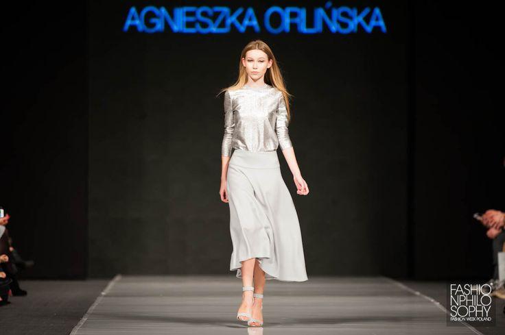 AGNIESZKA ORLIŃSKA, Designer Avenue, 9 FashionPhilosophy Fashion Week, fot. Łukasz Szeląg Poland #agnieszkaorlinska #orlinska #fashionweek #lodz #fashionweekpoland #fashionphilosophy