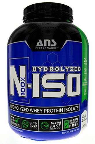ANS Performance N-ISO Whey Protein Milk Cookies and Cream 5 Pound Review