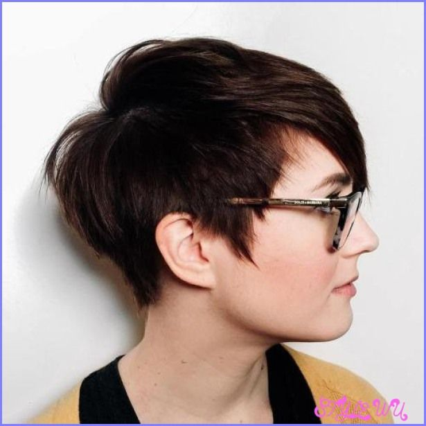 cool Short haircut ideas for round faces