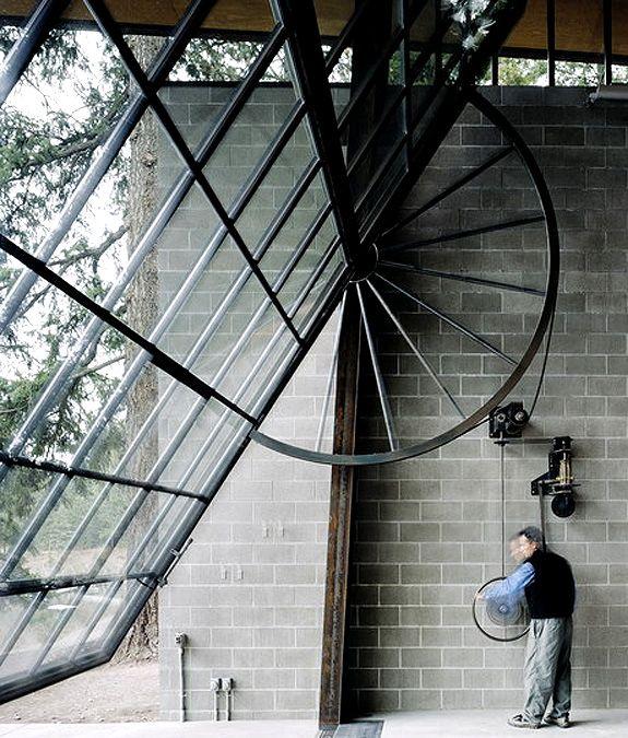 chicken point cabin, Olson Kundig Architects