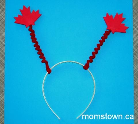 Canada Day Deely-Bopper Headband   momstown National
