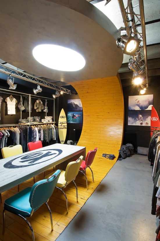 Ex Raw State (design showroom & fashion store) by Unicum , via Behance