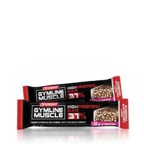 Integratore Gymline Muscle High Protein Bar 37% al cioccolato fondente della Enervit. http://www.farmaciaigea.com/barrette-proteiche-ed-energetiche/3707-gymline-muscle-high-protein-bar-37-8007640826641.html