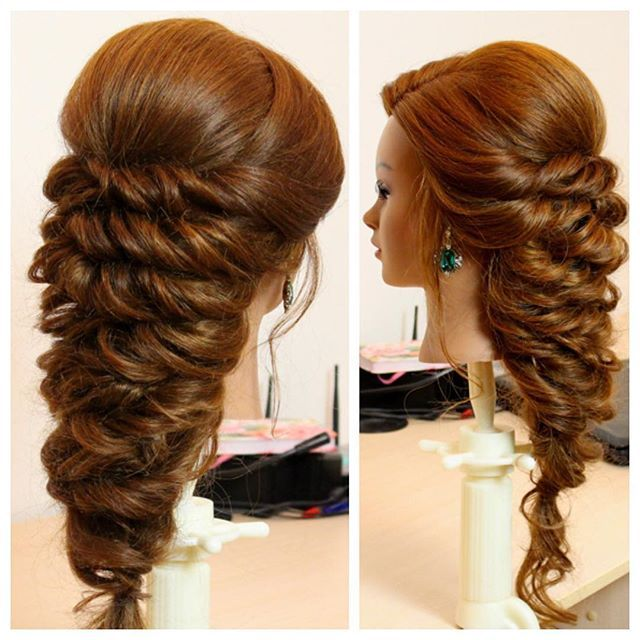 Hello everyone ! Here is new romantic hairstyle ... Full tutorial available on my channel.