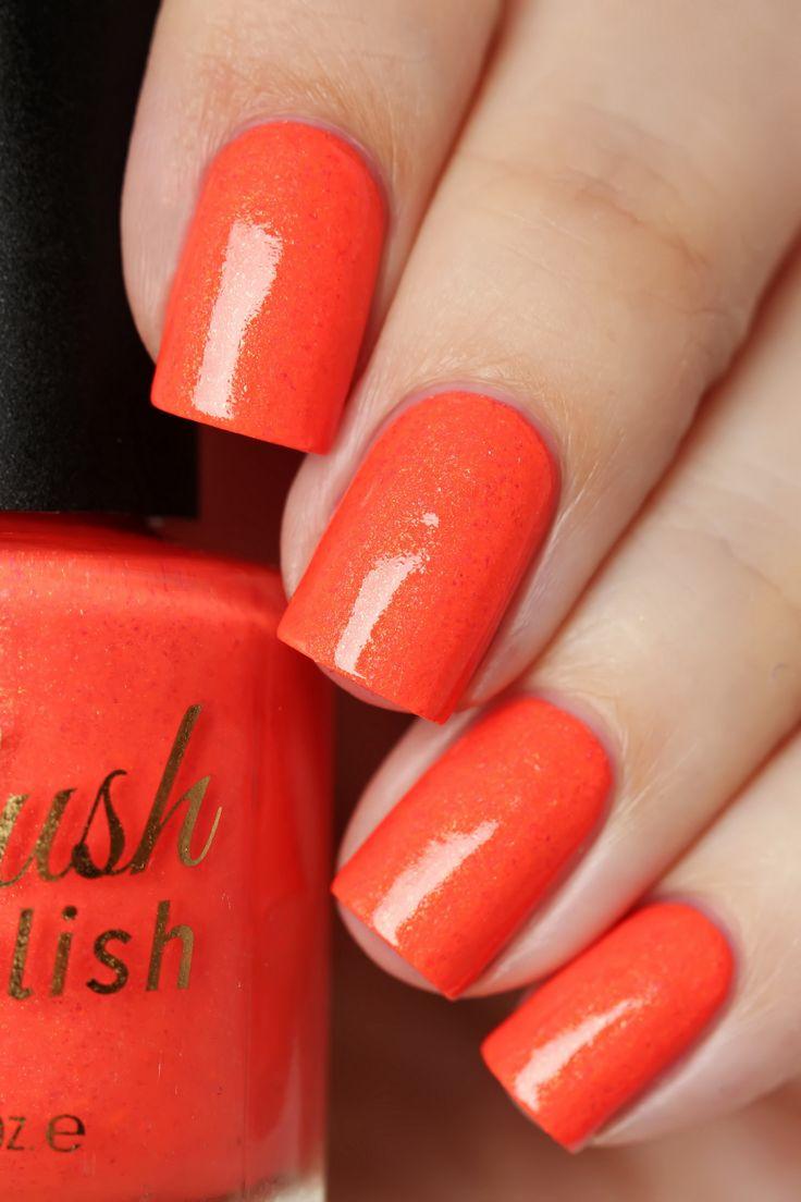 Love it When You Call Me Big Papaya from Delush Polish's Nautical By Nature Collection