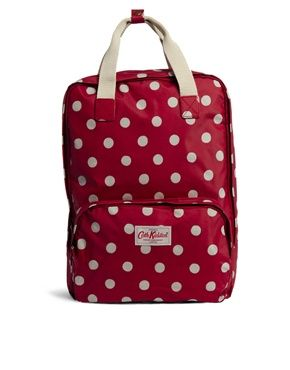 Cath Kidston Button Spot Backpack. Cute pack for carrying around the essentials during the walking tours of Barcelona